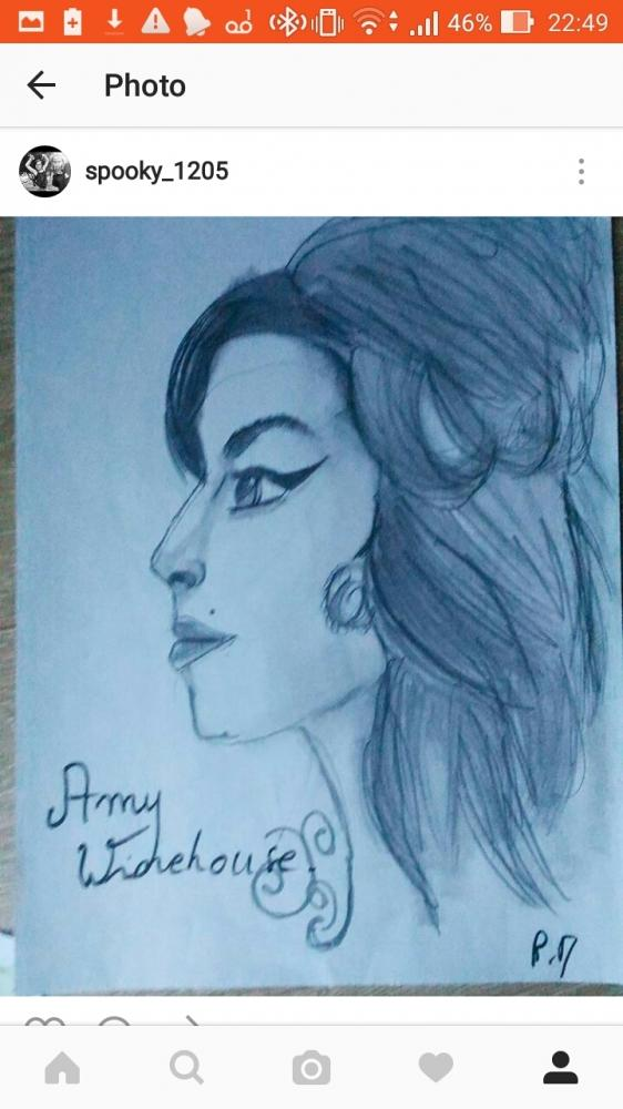 Amy Winehouse by spooky1205